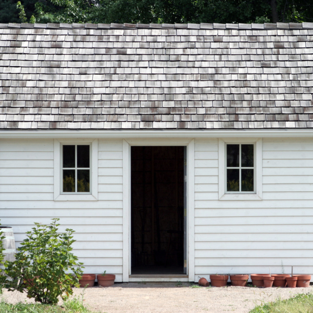 small house with a not necessarily welcoming feel