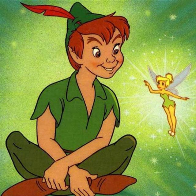 Tinkerbell & Peter Pan