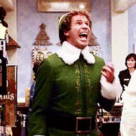 """""""Santa, oh my God! I know him!"""""""