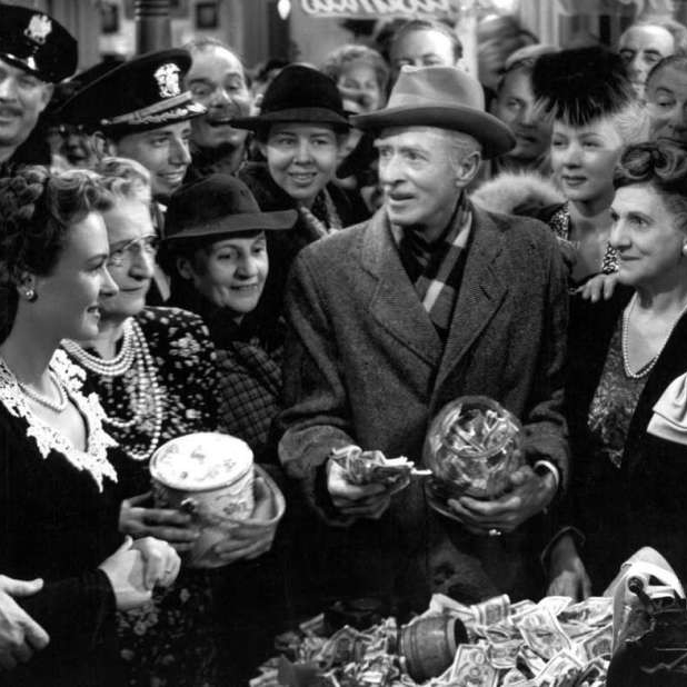 The Town Saves George Bailey in It's a Wonderful Life