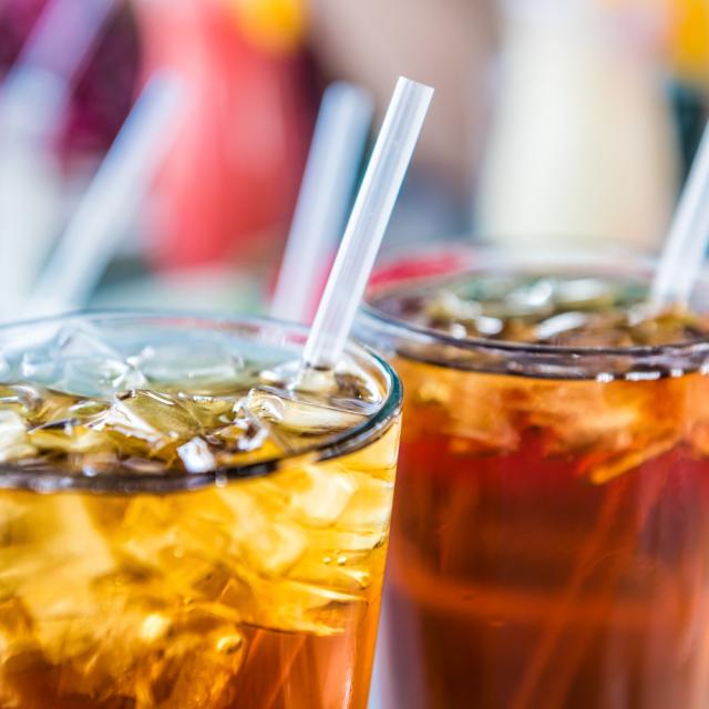 Pop or soda.