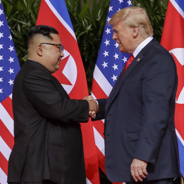 歴史上初の米朝首脳会談