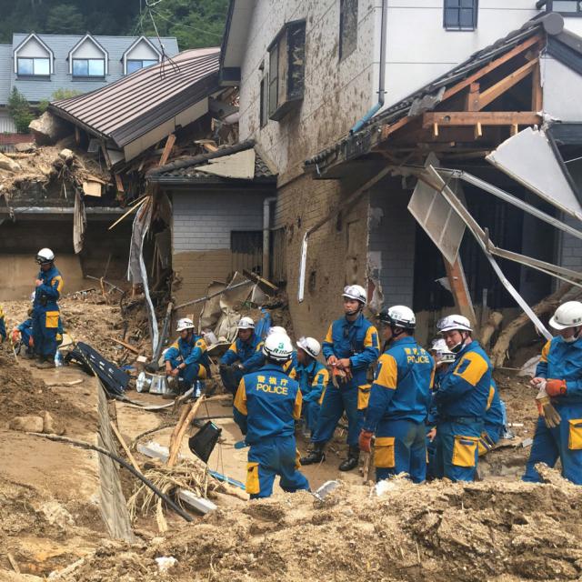 自然災害(インドネシア、日本など)