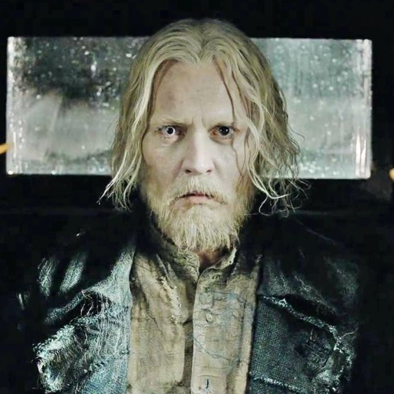 Johnny Depp as himself in Fantastic Beasts: The Crimes of Grindelwald