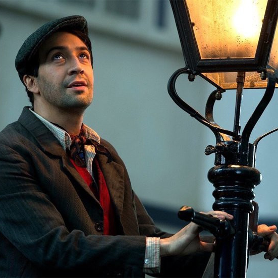 A rapping lamplighter played by - SURPRISE! - Lin Manuel Miranda