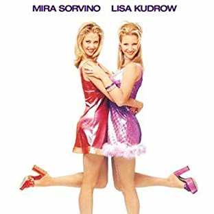 """Romy & Michele's High School Reunion starring """"Phoebe"""" 2 dim-witted, inseparable friends hit the road for their 10-yr high school reunion."""