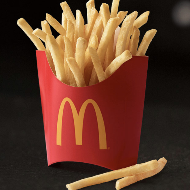 More fries...