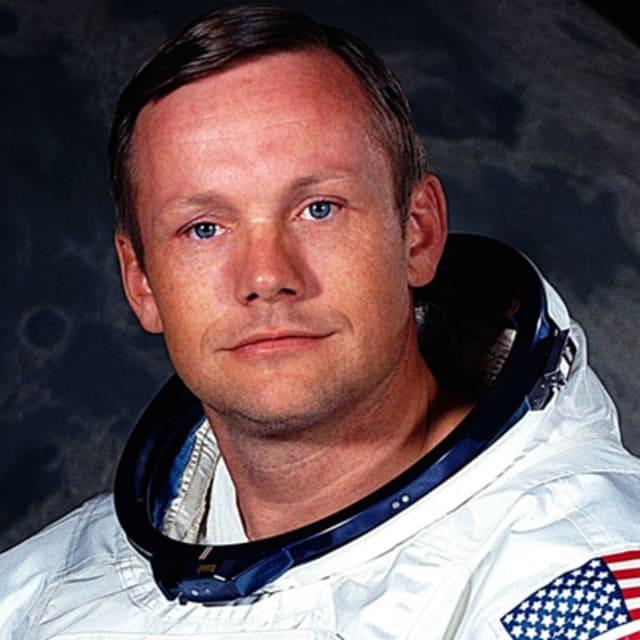 Neil Armostrong, primer hombre en pisar La Luna.