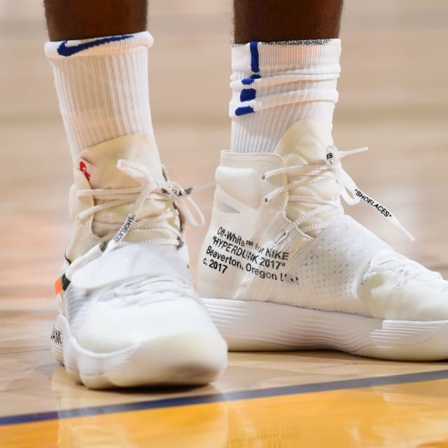 b9a2d9cc0042a8 NBA -- Which player had the best sneakers on Opening Week