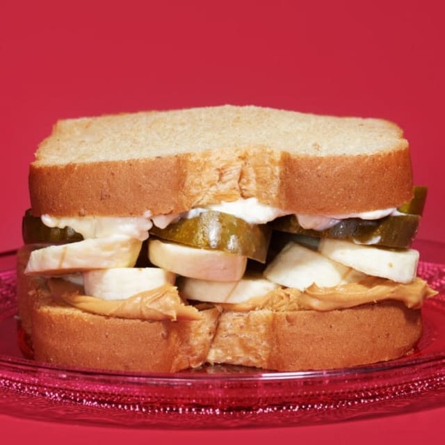 Peanut Butter, Mayonnaise, Bananas and Pickles