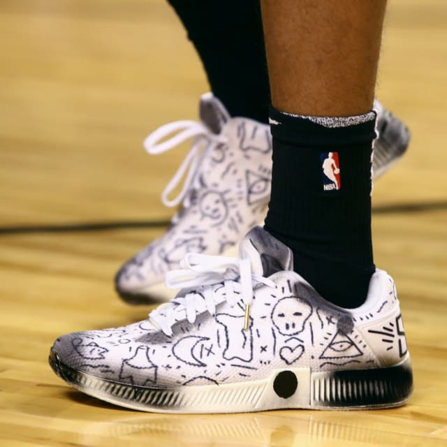 080551a5d3660 NBA -- Which player had the best sneakers in Week 8?