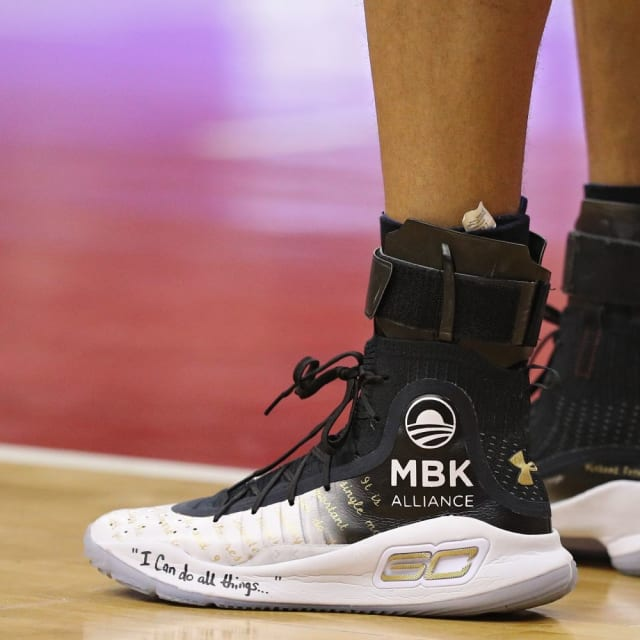 05c567947f872 Which player had the best sneakers in Week 20 in the NBA? Stephen Curry