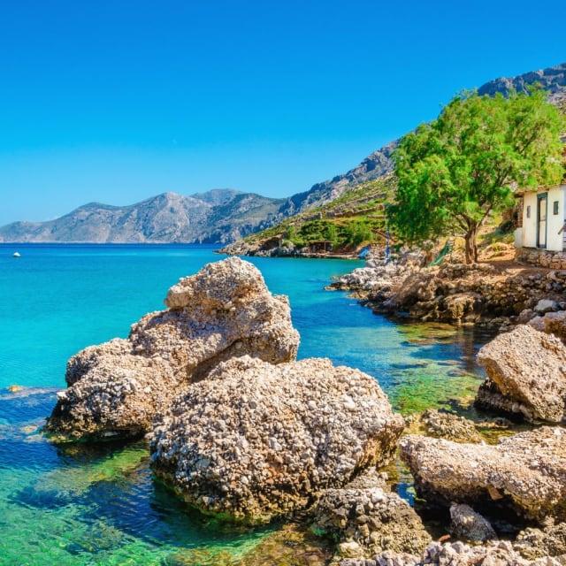 A Greek island