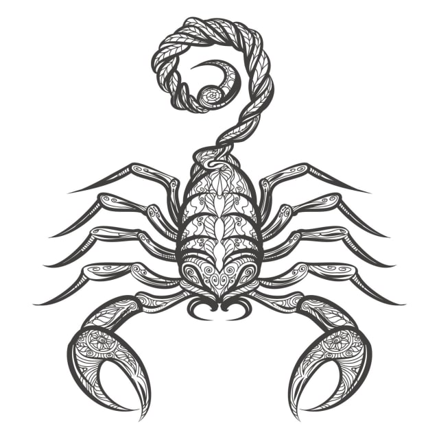 23 October- 22 November (Scorpio)