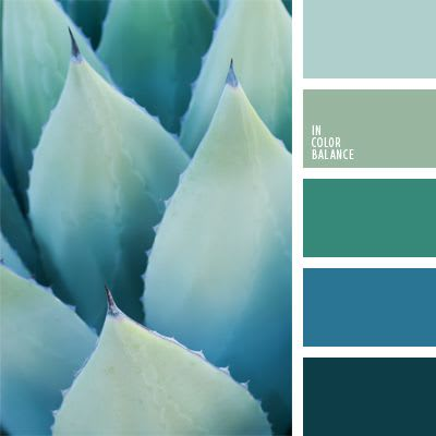 Blues or greens