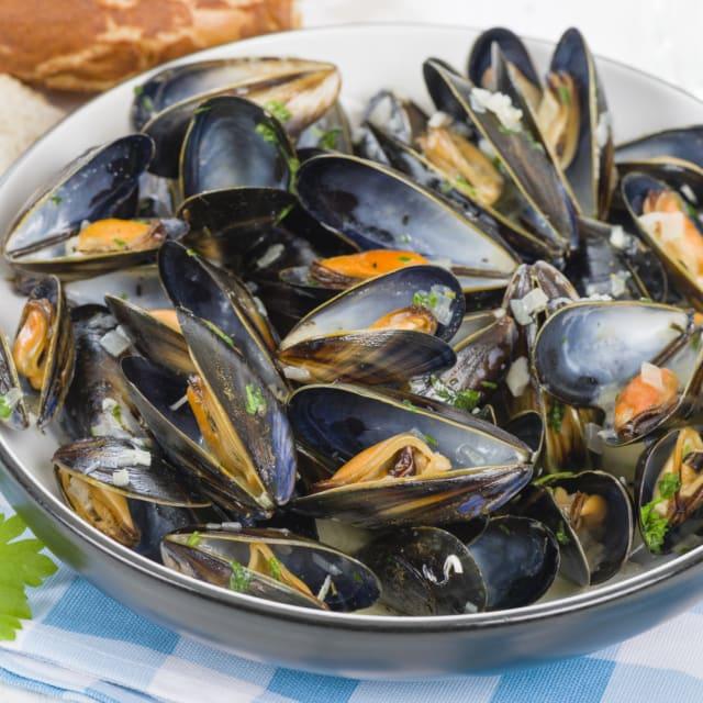 Mussels à la Marinière