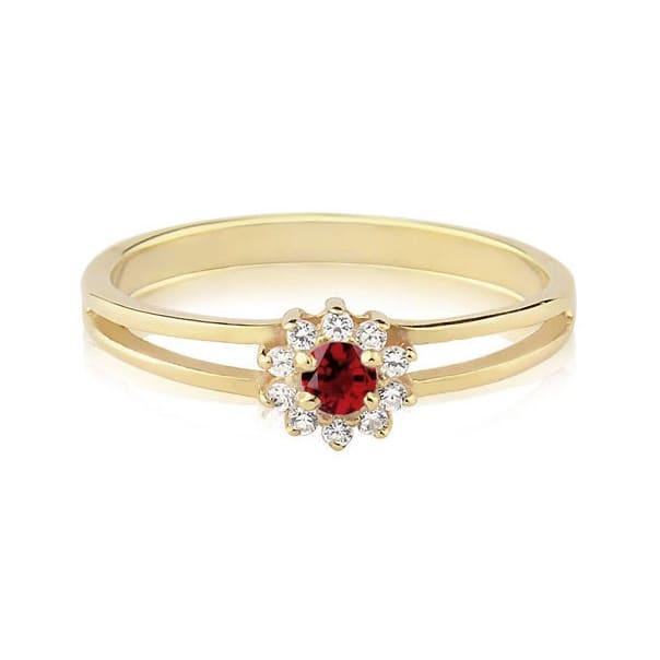Um anel de Rubi