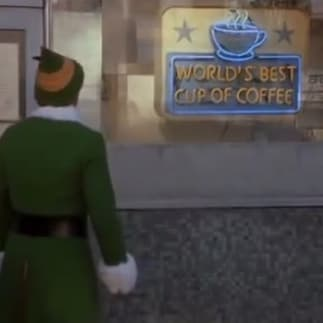 """World's best cup of coffee. Great job, everybody!"""