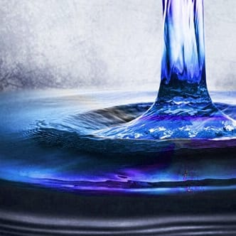 Water: symbol of intention and purity