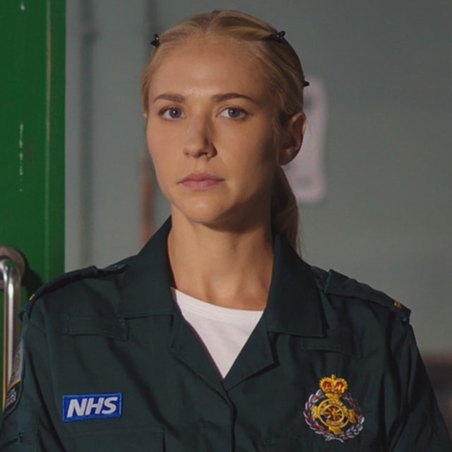 Maddy Hill as Ruby Spark - Casualty