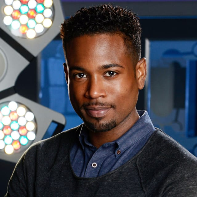 "Marcus Griffiths as Xavier ""Zav"" Duval - Holby City"