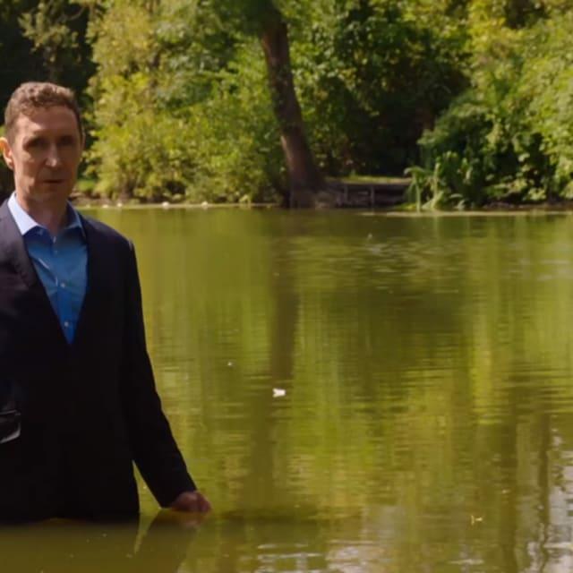 Paul McGann as John Gaskell - Holby City