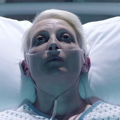 Hermione Gulliford as Roxanna MacMillan - Holby City