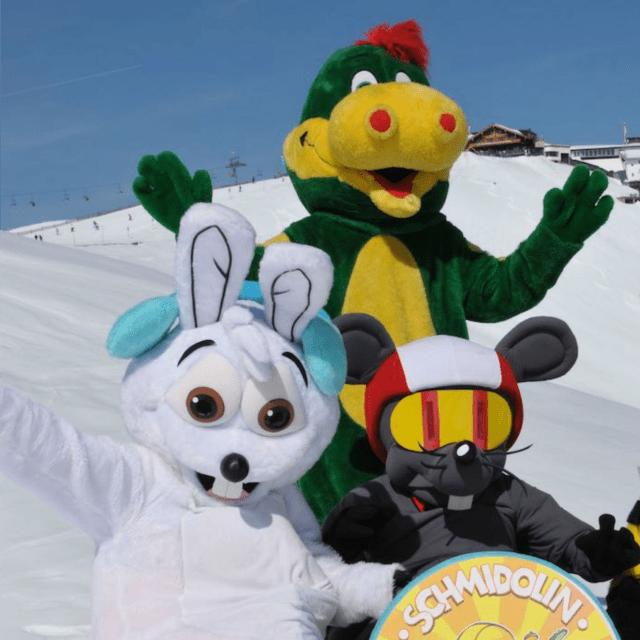 Schmidolin der Drache - Ski & Snowboardschule  Zell am See