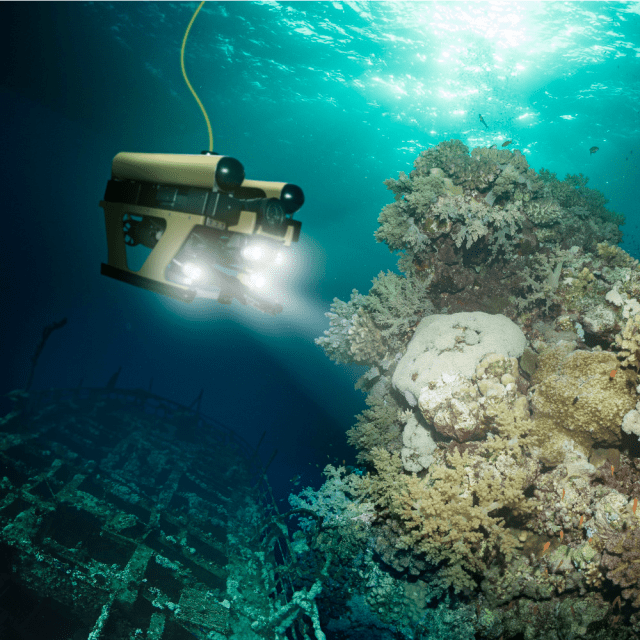 Deep. Sea. SUBMERSIBLE!