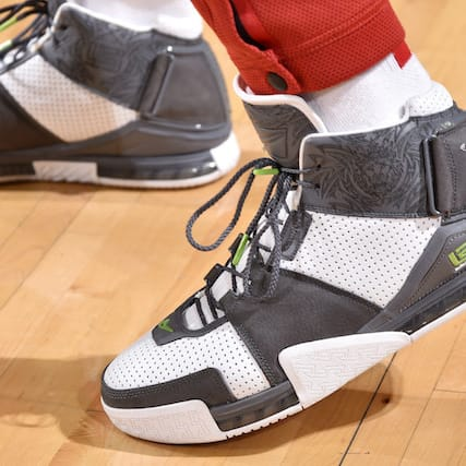 0ec3a0702abc2 Which player had the best sneakers in Week 22 in the NBA  Donovan Mitchell.  Donovan Mitchell. PJ Tucker