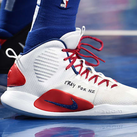73f6ccf94598 Which player had the best sneakers in Week 22 in the NBA  Donovan Mitchell.  Donovan Mitchell. PJ Tucker. PJ Tucker. Ben Simmons
