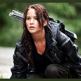 Katniss Everdeen off of Hunger Games