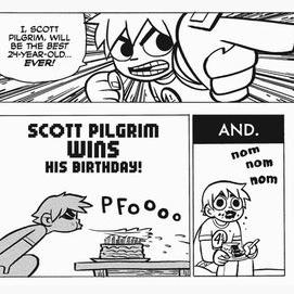 Scott Pilgrim Panels.