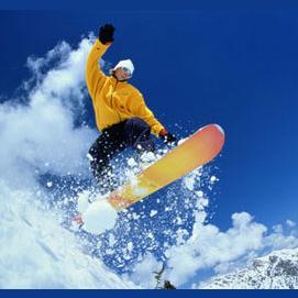 Snow Skiing down the Zermatt Mountain in Switzerland