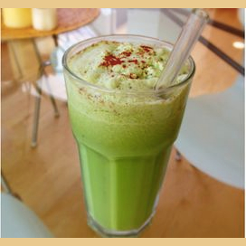 Refreshing Coconut Shake