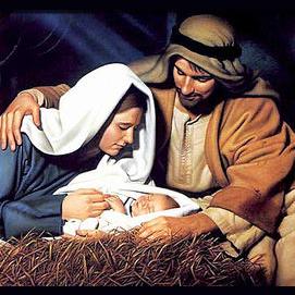 The celebration of the Nativity of Jesus.