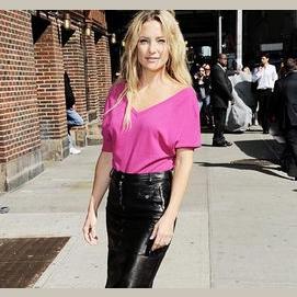 Leather Skirt Mom