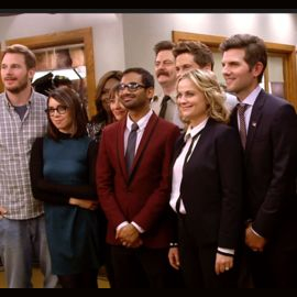 """The cast of """"Parks and Recreation"""""""