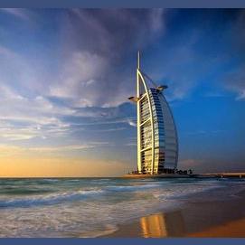Five nights at the Burj al Arab – the world's only 7-star hotel – in Dubai
