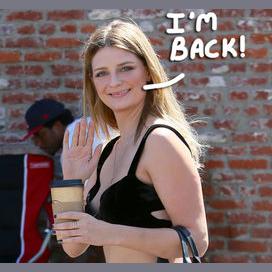 Mischa Barton's comeback