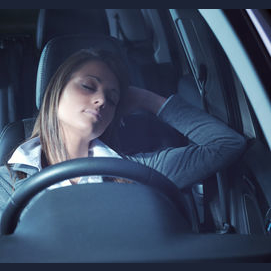 Take a nap in my car