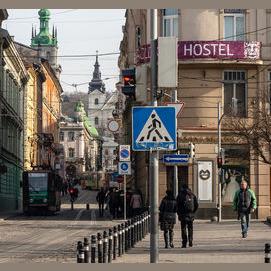 A hostel in Europe