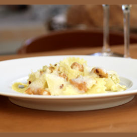 Pappardelle with Sea Urchin and Cauliflower
