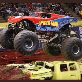 Seeing a monster truck show