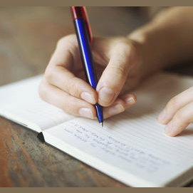 Write a book, poem, or journal entry