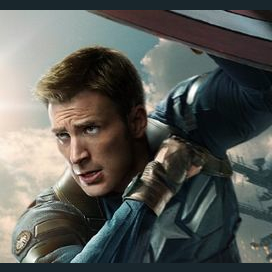 Captain America, he's so old-school!