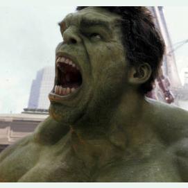 The Hulk, any day!