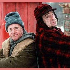 Walter Matthau and Jack Lemmon