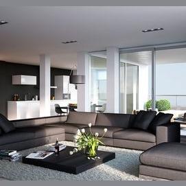 Un appartement moderne et à la mode