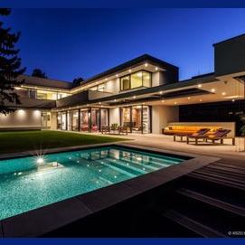 Une maison très luxueuse